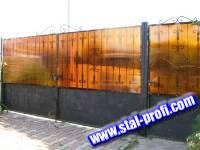 Сдвижные въездные ворота