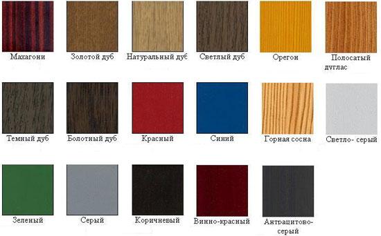 Дуба натурального или темного цвета