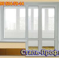 Балконная дверь из ПВХ профиля