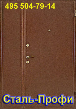 установка металлической двери в общий коридор без изготовления и доставки