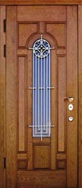 Дверь со стеклопакетом от компании Сталь-Профи
