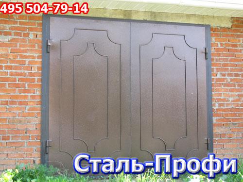 Ворота для гаража. распашные гаражные ворота.